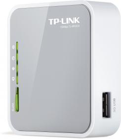 TPlink MR3020 : mini routeur 3G avec point Wifi 150Mb : format desktop par TPlink